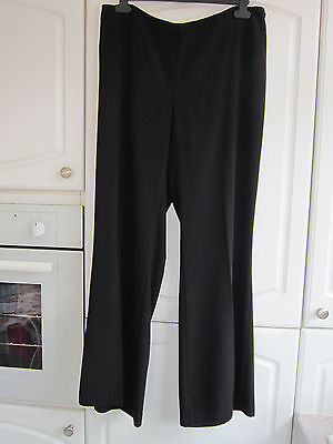 Ladies Size 18 Black H&m Trousers
