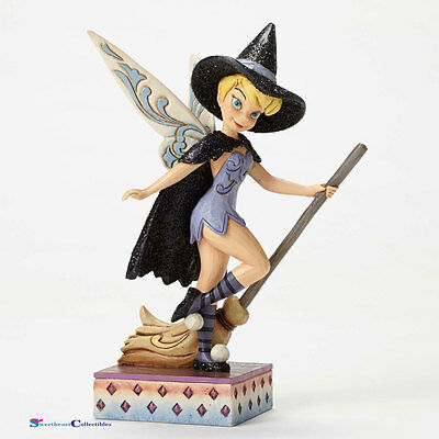 Jim Shore Disney Halloween 4051980 Tinker Bell Witch