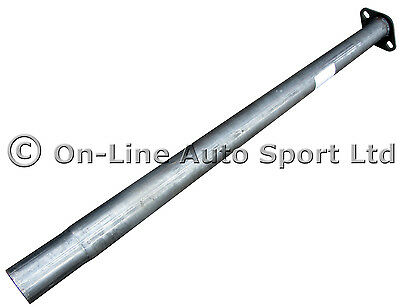 Ford Focus Mk2 1.6 1.8 2.0 Perfomance Exhaust Race Tube Centre Pipe - Hoffmann