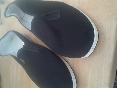 Adults Casual Kung Fu Shoes Rubber Sole Slippers