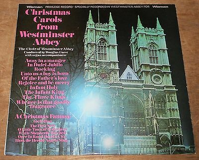 WESTMINSTER ABBEY CHOIR : Christmas Carols From Westminster Abbey - 1968 UK LP