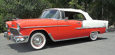 1955 Chevrolet Bel Air/150/210 Bel Air 1955 Chevrolet Bel Air 2-door Convertible - Stored in Collection last 20 years