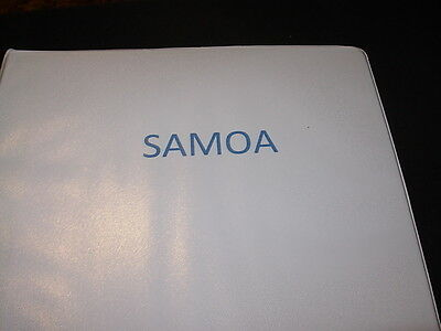 Clean Samoa Collection In Binder-1877-1979!
