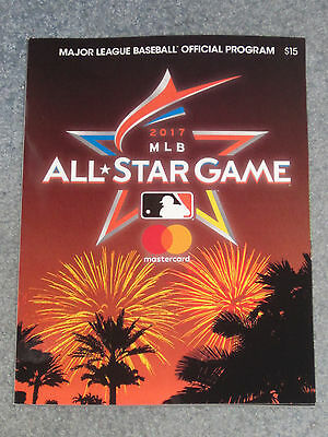 2017 MLB Major League Baseball All Star Game Official Program New