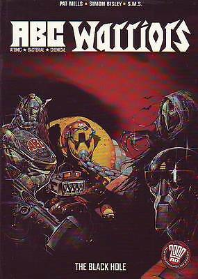 ABC Warriors volume 2 The Black Hole trade paperback 2000AD Simon Bisley