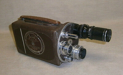 Vintage Bell & Howell Filmo Auto Master 16mm Movie Camera