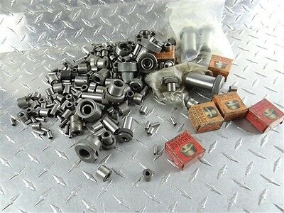 """Large Assorted Lot Of Hardened Drill Bushings 5/64"""" To 1/2"""""""