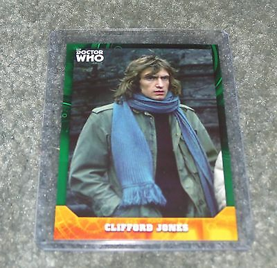 2017 Topps Doctor Who Signature Series Base Card 97  Green Parallel 1 / 50
