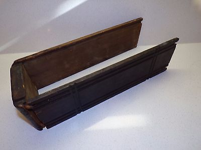 ANTIQUE SINGER TREADLE SEWING MACHINE CABINET WOOD DRAWER pieces   202