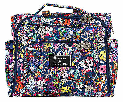 Ju Ju Be Tokidoki X BFF Baby Diaper Bag Backpack w Changing Pad Sea Punk NEW