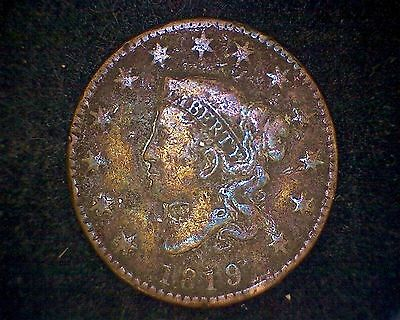 1819 Coronet Head Large Cent #14559