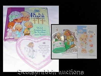 NEW PRECIOUS MOMENTS ITEMS Snow Globe Book Heart Porcelain & Ornament