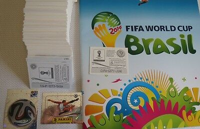 PANINI World cup Brasil 2014 - 97% Pick 7 shiny or 15 normal for 0.99 BARGAIN!!!