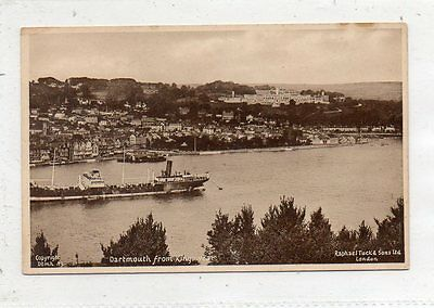 """""postcard Dartmouth From Kingswear,devon,by Tucks"""""