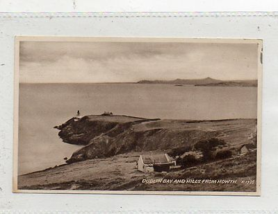 """""""""""postcard Dublin Bay And Hills From Howth,ireland"""""""""""