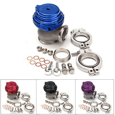 AU TIAL MVS 38mm Black Purple Red Wastegate With V-band and Flanges MV-S