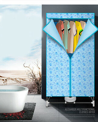 Mute Portable Home Energy-saving Rotary Control Panel Electric Air Clothes Dryer