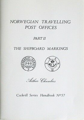 Norway SEA TRAVELLING POST OFFICES Maritime SHIPBOARD POSTMARKS Postal History