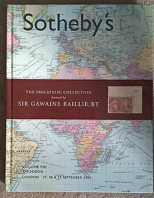 Auction catalogue Sotheby's Sir Gawaine Baillie RHODESIA Hardbound Free UK Post