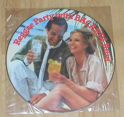 REGGAE PARTY WITH BACARDI picture disc vinyl LP