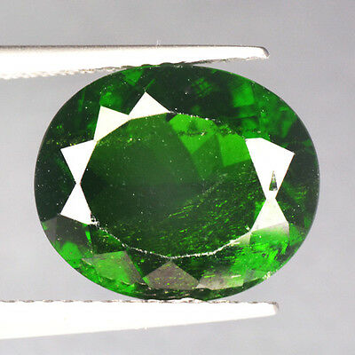 4.90 Cts Amazing Rare Russian Green Natural Chrome Diopside Gemstones