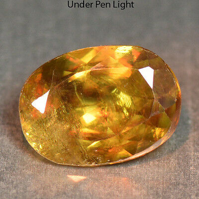 0.95 Ctsunheated Rare Color Change Natural Sphene Gemstones