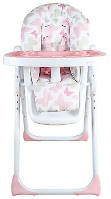 My Babiie Katie Piper MBHC8BU Pink Butterfly Highchair. The Official Argos Store