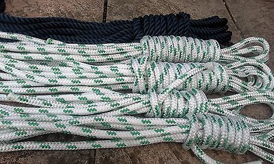 Job Lot of 14mm 5 x Lengths 14mm Polyester Rope