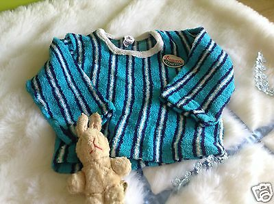 AUTHENTIC VINTAGE 1970s UNUSED BABY BOYS/GIRLS CHILDRENS TOP/JUMPER  9 months