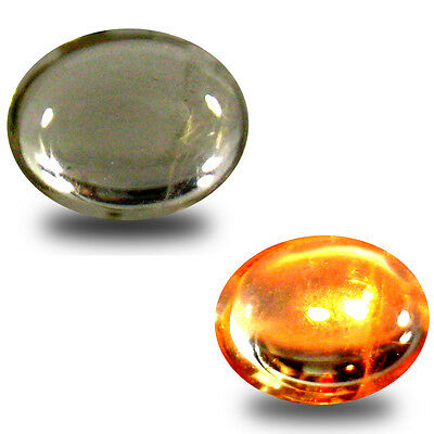 1.68 ct Eye-opening Oval Cabochon (9 x 7 mm) Un-Heated Color Change Diaspore