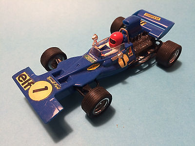 Scalextric Exin Tyrrell Ford Azul Lote 33