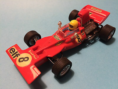 Scalextric Exin Tyrrell Ford Rojo Lote 35