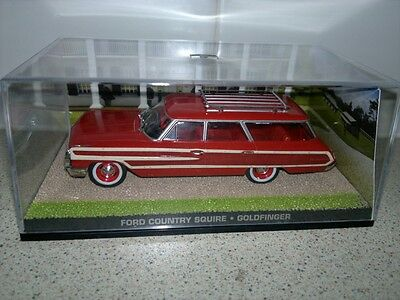 EAGLEMOSS - james bond ...Ford Country Squire,.. DIECAST 1/43 scale ISSUE 105