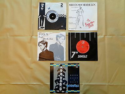 Job Lot/Collection of 10 singles from the '70/80's Free Postage UK