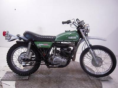 1974 Yamaha DT360A Enduro Unregistered US Import Barn Find Classic Restoration