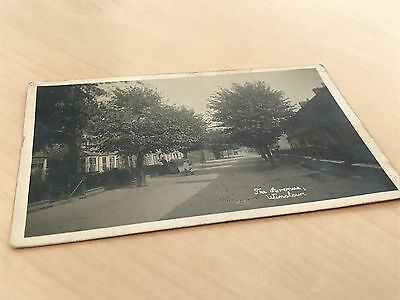 1921 Real Photo Postcard The Avenue Winslow