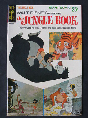 Walt Disney Presents The Jungle Book (Gold Key 1967) First printing, 64 pages