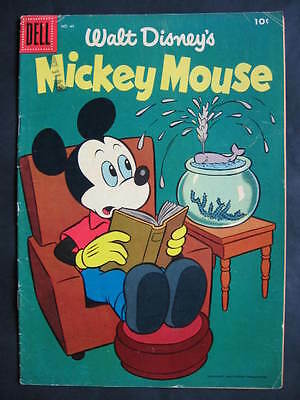 Mickey Mouse #45 Dell 1956