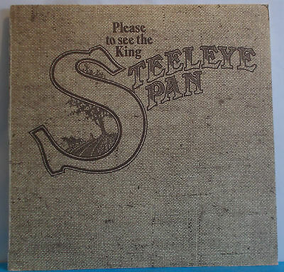 STEELEYE SPAN Please To See The King Original UK LP Maddy Prior Ashley Hutchings