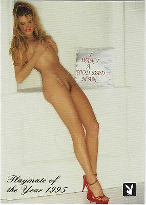 TC Playboy Mai 1995 Sports Time Julie Lynn Cialini Gold Foil 6PY
