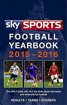 Sky Sports Football Yearbook 2015-2016 Headline 1056 pages Broche 13 08 2015