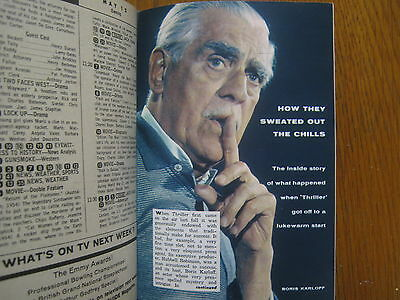 1961 TV Guide (BORIS  KARLOFF/MISTER  ED/ALAN  YOUNG/DONNA  REED/MICKEY  ROONEY)
