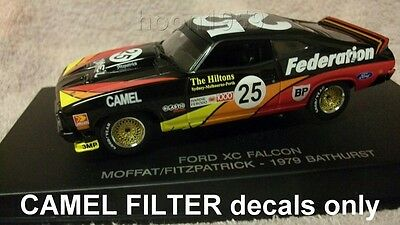 1:43 Waterslide missing Decals for Moffat Ford XC 1979 Federation Falcon coupe
