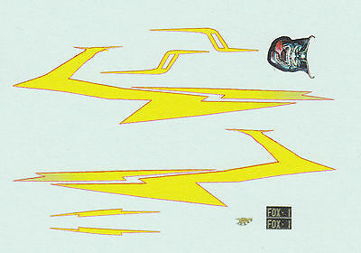 1:64 decals Running On Empty / Fast Lane Fever - FOX-1 D0DGE Challenger R/T 440