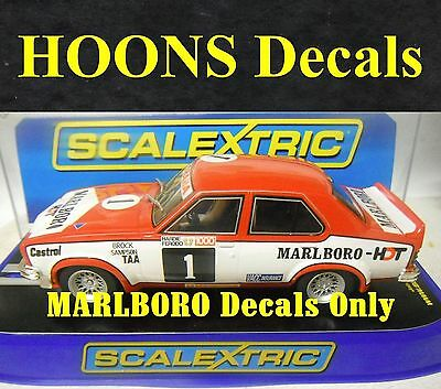 1:32 Waterslide MARLB0R0 decals for Brock / Sampson 1974 L34 Torana Scalextric