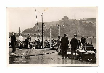 The Fishquay, Whitby - Rp Postcard