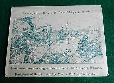 Panorama Of The Battle Of The Yser In 1914 By A.bastien