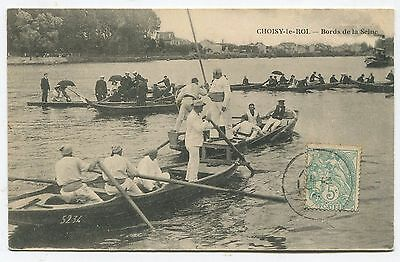 Choisy-le-Roi. Bords de la Seine. 1906