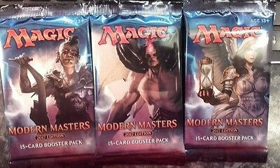 Wizards Magic The Gathering 3x Modern Masters 2017 Edition Booster Packs