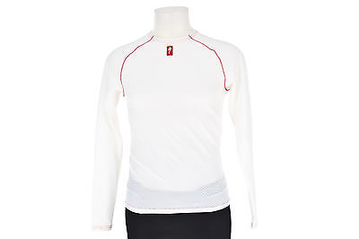 Specialized LS Cycling Baselayer X-LARGE Road Mountain Bike Long Sleeve White
